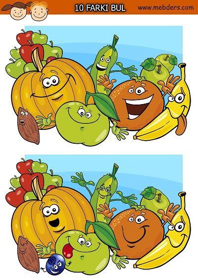 sevimli meyveler arasindaki  farki bulma etkinligi meb