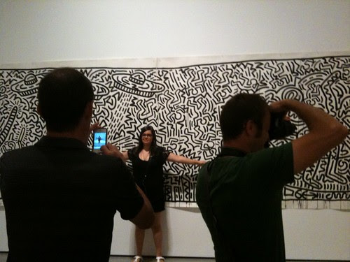 At the 1980-2012 exhibit, MoMa