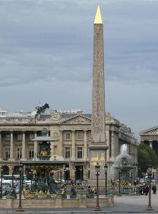The Obelisk at the Place de la Concorde, Paris