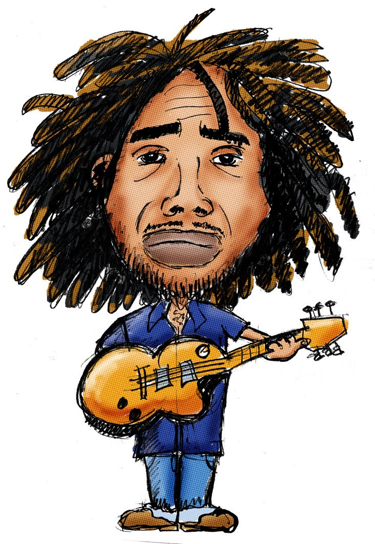 Bob Marley Cartoon Pictures
