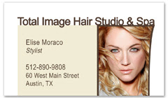 BCS-1118 - salon business card