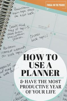 4 Things to Include When Setting Up Your New Planner | Creative ...