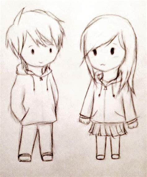 cute couple sketches cute couple sketches  draw cute
