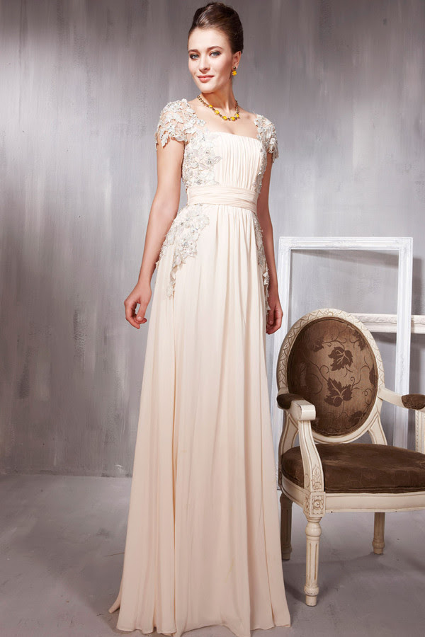 White evening dresses london