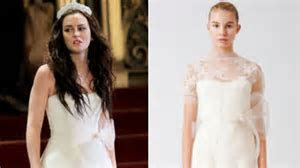 Confirmed: Blair Waldorf's Wedding Dress Designer Is Vera