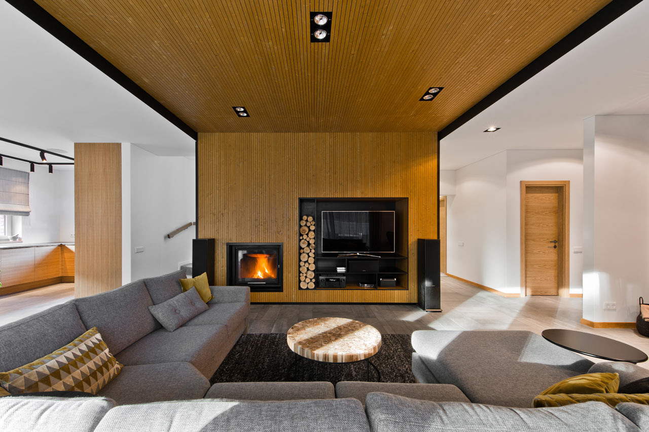 House in Lithuania with a Scandinavian Interior Design Milk - FabModula:Interior Designers BangaloreBest Interior Design