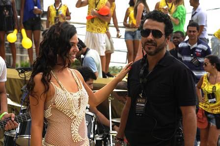 Marcos Palmeira é Augustão, chefe de segurança da Sereia