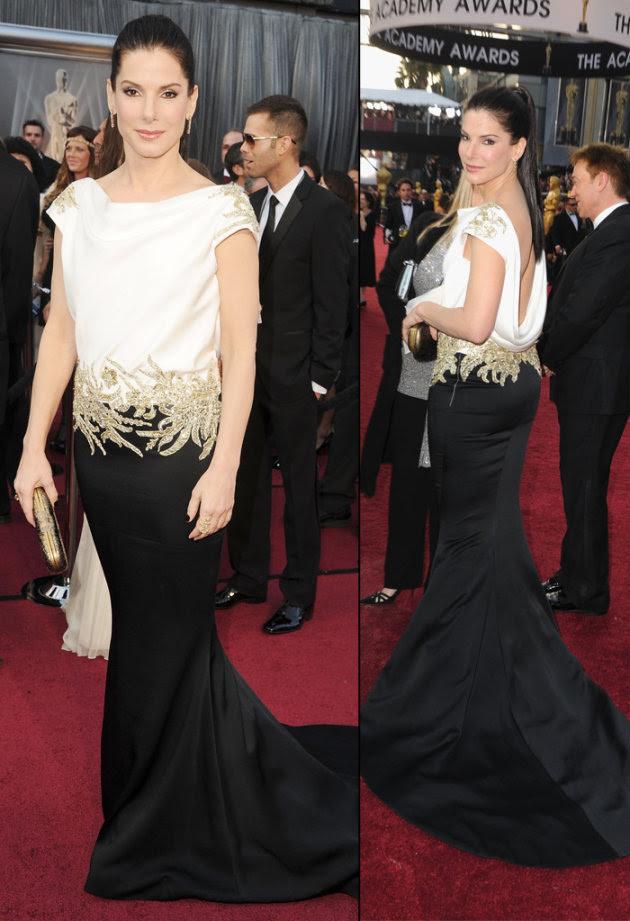 2012 Oscar Arrivals Sandra…