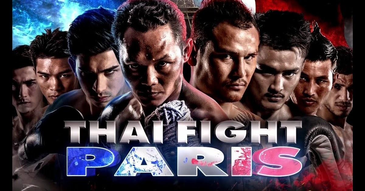 ไทยไฟท์ล่าสุด ปารีส เต็งหนึ่ง ศิษย์เจ๊สายรุ้ง 8 เมษายน 2560 Thaifight paris 2017 https://goo.gl/5bZWbO