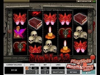 Diablo 13 slot machine can be found at Top New Zealand casinos that offer free spins and no deposit bonuses.The bonus symbol is usually represented by the Wizard and when you have 3, 4, or 5 wizards in the gameplay, then you will have triggered a bonus game where you have a 3/5(1).Hasköy