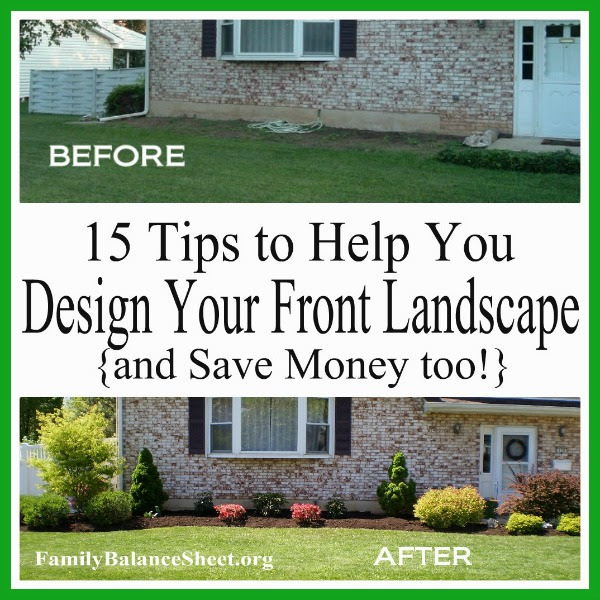Tips to Design your own front landscape 600