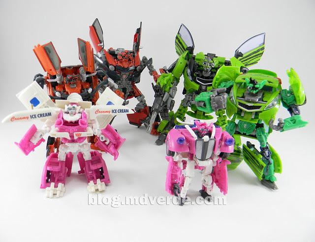 Transformers Mudflap RotF Human Alliance modo robot vs otros Mudflaps y Skids