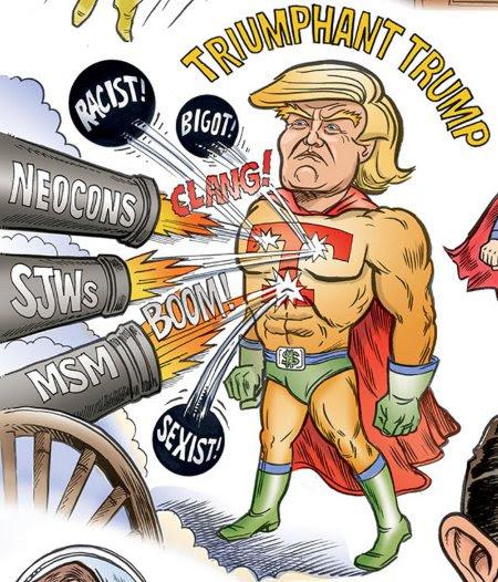Image result for trump triumphant