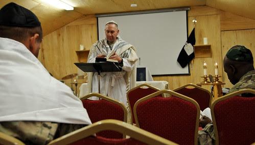 Bayonet Soldiers Observe Rosh Hashanah in Afghanistan