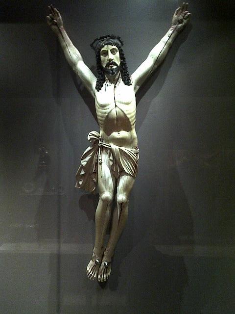 jesus in ivory