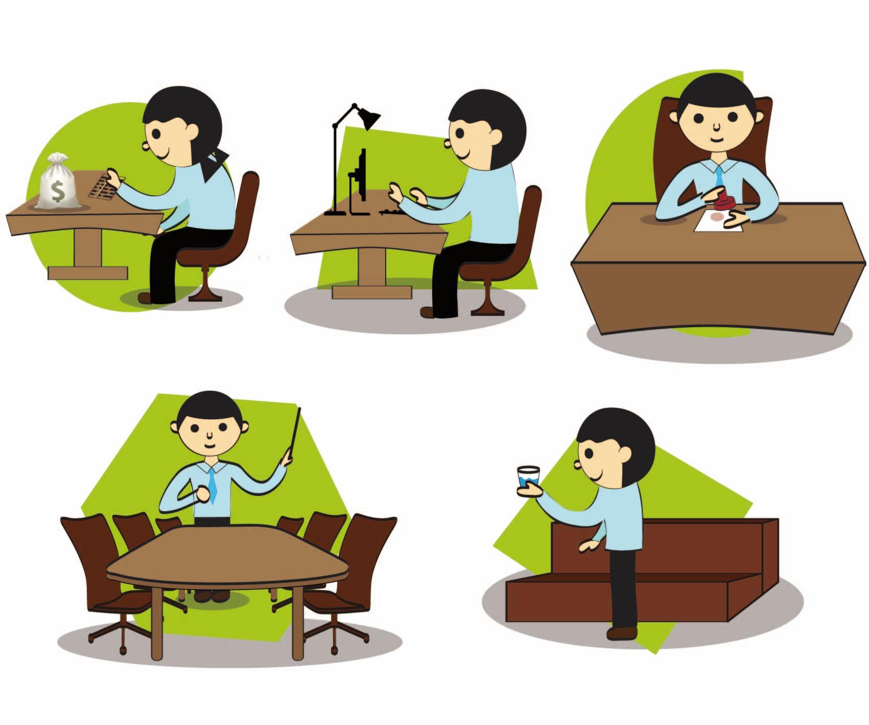 Koleksi 7700  Gambar Animasi Orang Kerja Di Kantor  Gratis