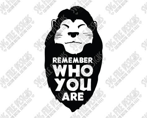 Mufasa Quotes Remember Who You Are