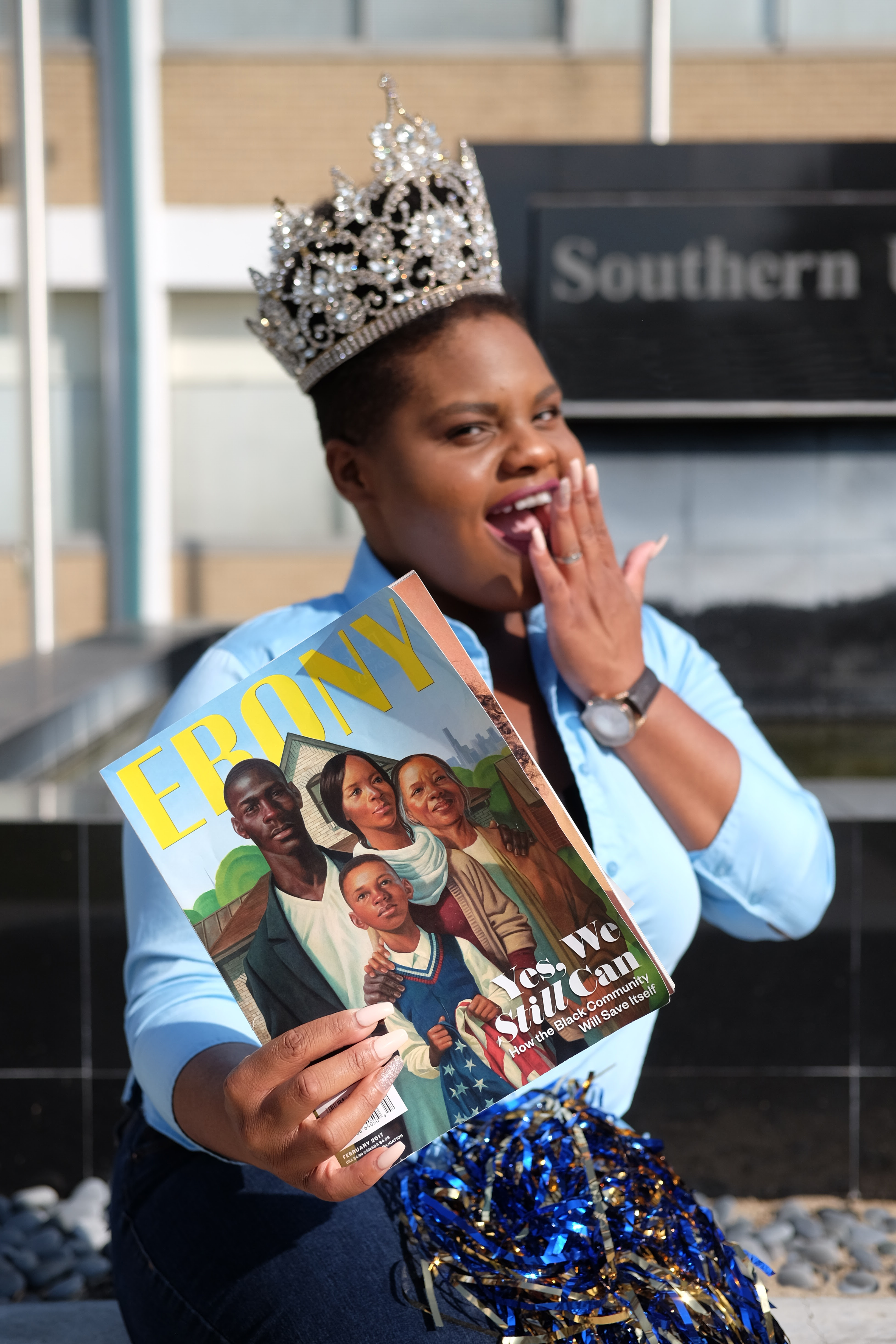 Miss SU lands number one spot for Ebony's HBCU Campus Queens competition  Southern University