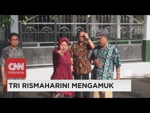 Walikota Surabaya Risma Ngamuk Lagi: Kali Ini Gegara Kantor Kecamatan Jorok & Kotor