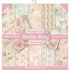 Stamperia 12x12 Shabby Rose