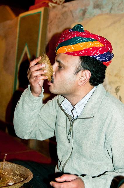 A good Rajasthani!