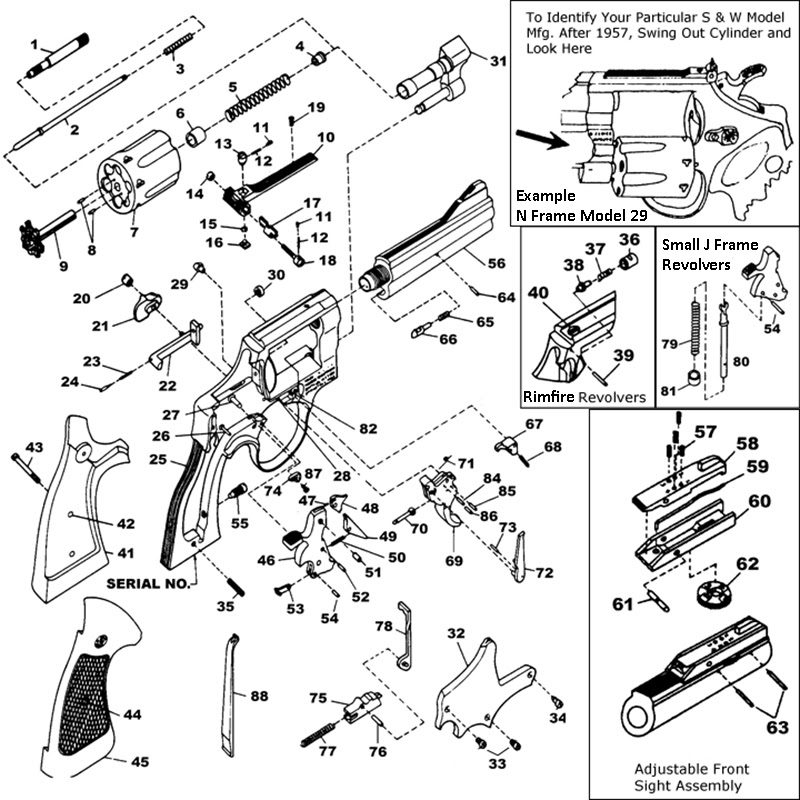 29 Smith Wesson Revolver Parts Diagram
