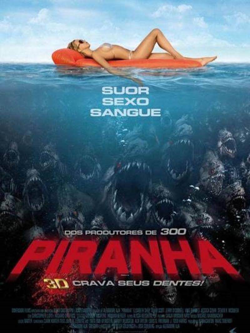 Resultado de imagem para Piranha filme sinopse