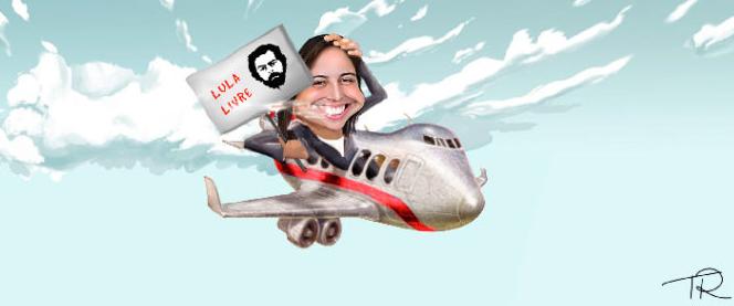 Natália Bonavides torra R$ 50 mil em passagens aéreas