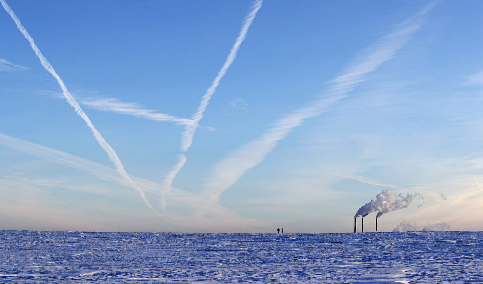 Зима в Минске, Беларусь