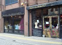Outside view of Made in Belfast restaurant/restolounge in Wellington Street, Belfast