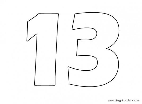 Numero 11 Para Colorear