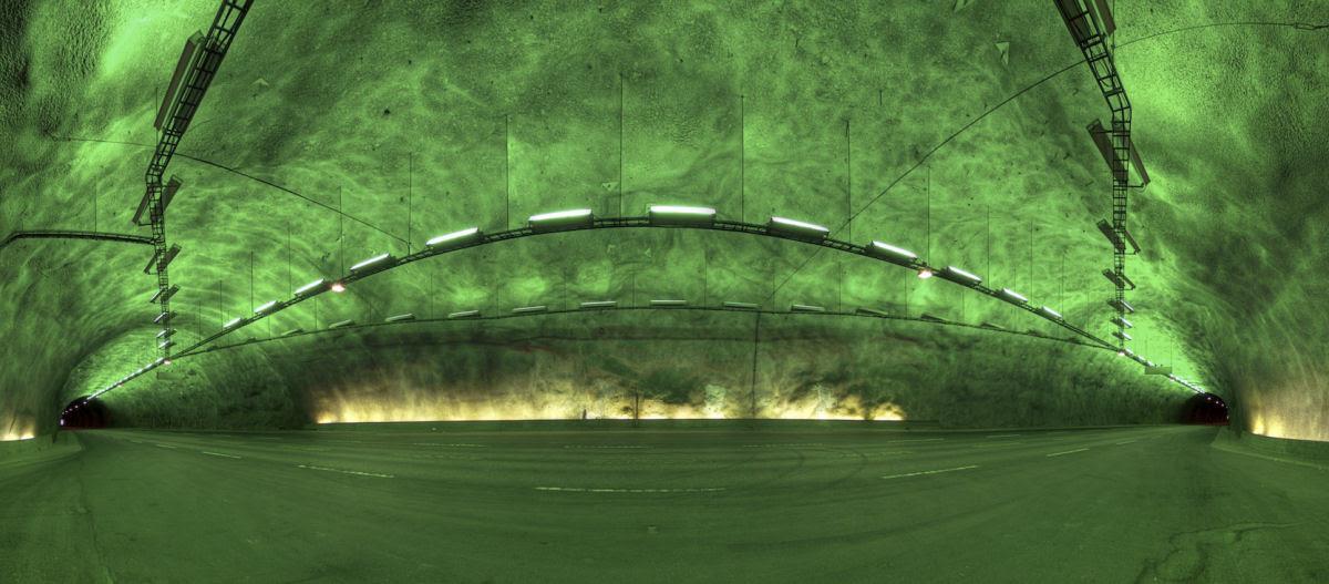 Lærdal Tunnel: o maior túnel rodoviário do mundo 03