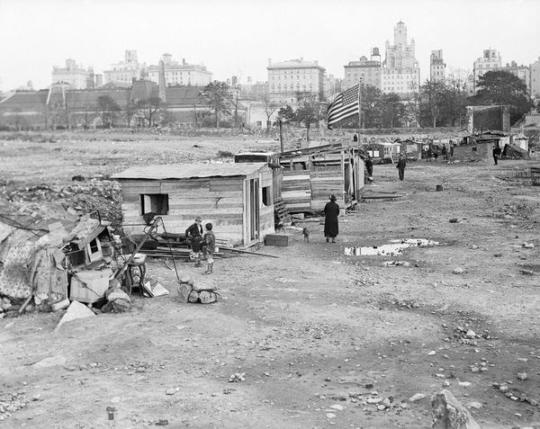 A Rare Look Inside Great Depression Hoovervilles (15 ...