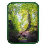 The Last Rise, Woodland Scene - Monogram rickshaw sleeves