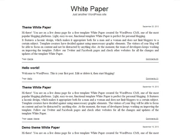White Paper Template 22