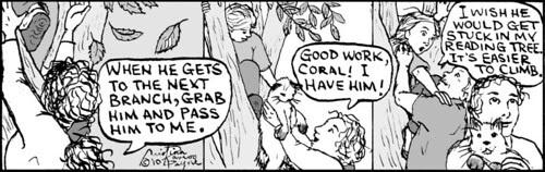 Home Spun comic strip #486