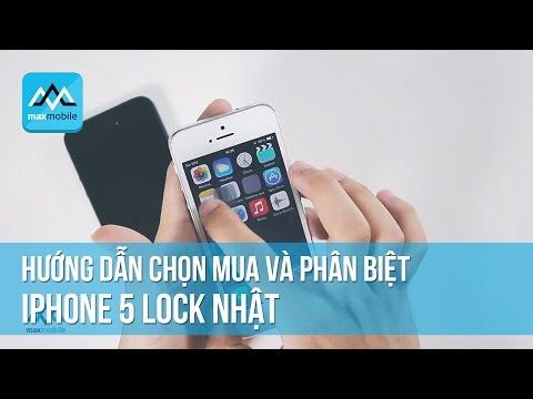 Chi tiết cấu hình iphone 5 lock