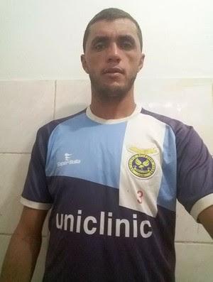 Edson Cariús, atacante do Uniclinic (Foto: Divulgação/Uniclinic)