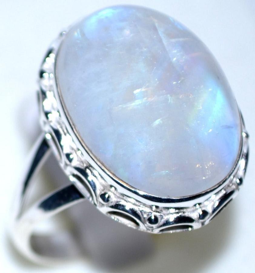 Resultado de imagen para moonstone rings