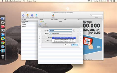 compress files  folders  macmacos catalina