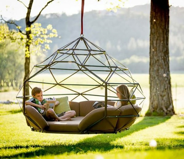 DIY Tree Swing Ideas For More Family Time (21)