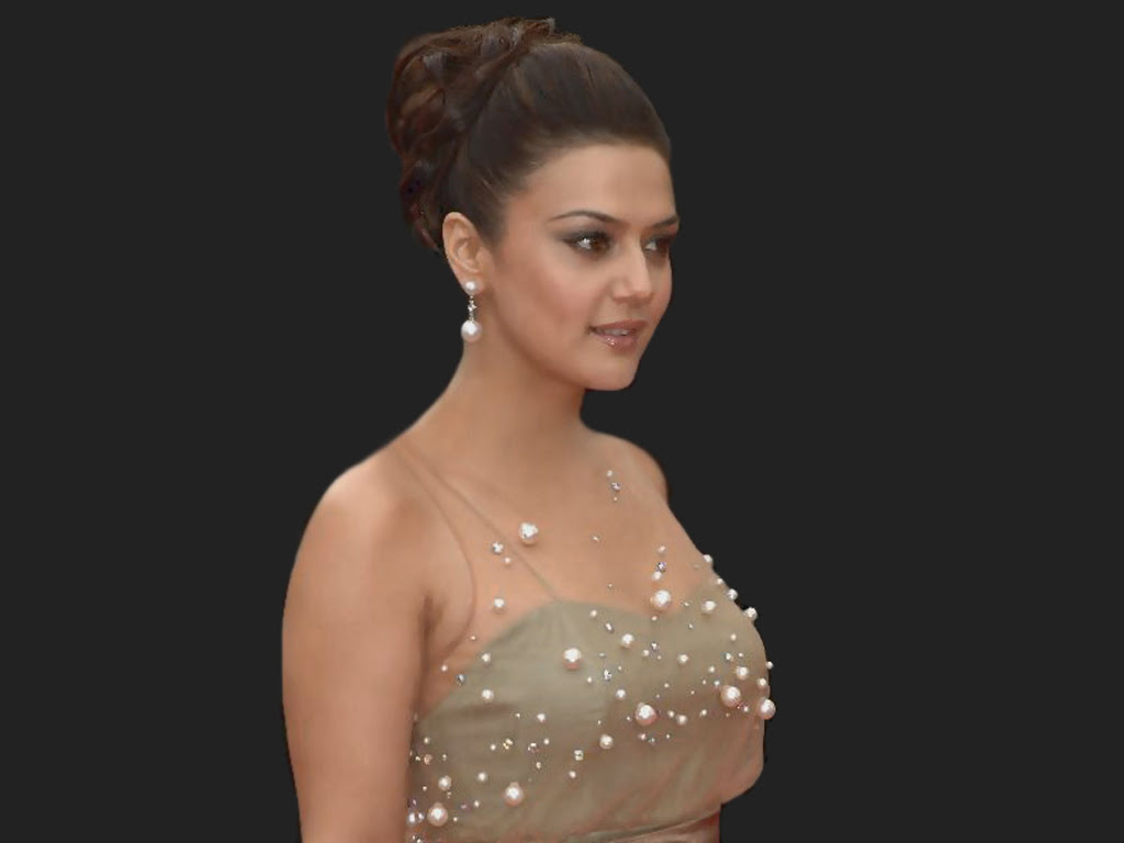 Ceelebrities Preity Zinta Hot Wallpapers-9230