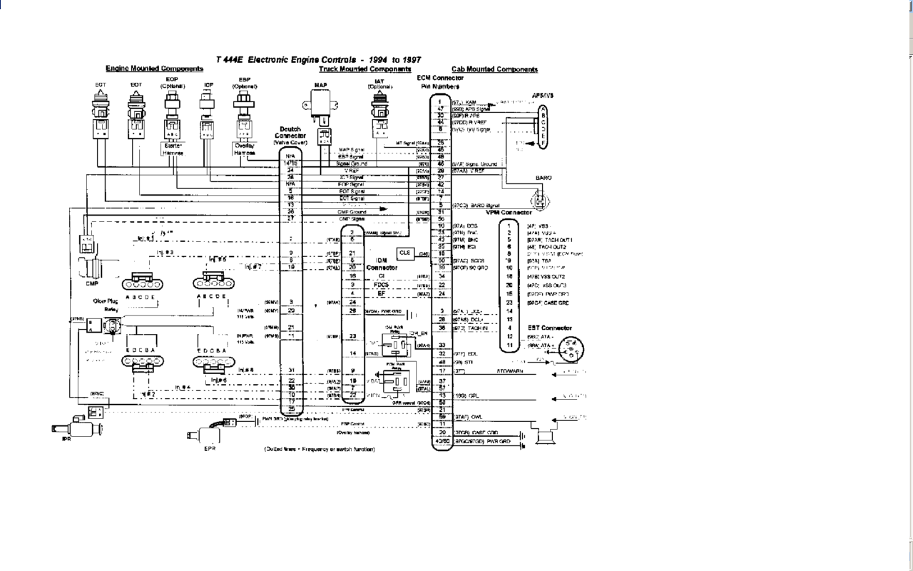 International Ignition Switch Wiring Diagram Wiring Diagram Explained Explained Led Illumina It