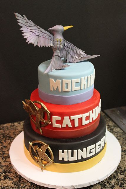 This is a really awesome Hunger Games Cake
