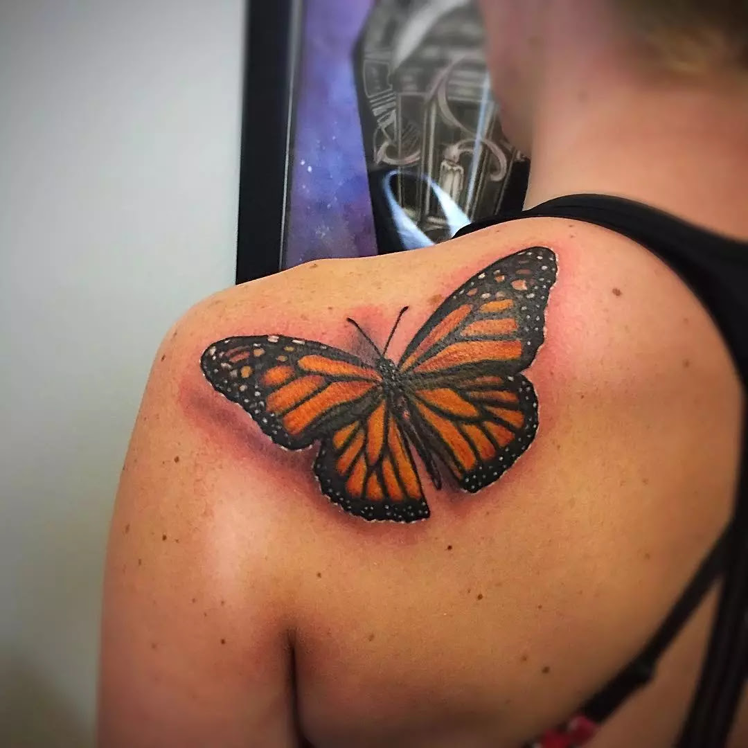 110+ Best Butterfly Tattoo Designs & Meanings - Cute