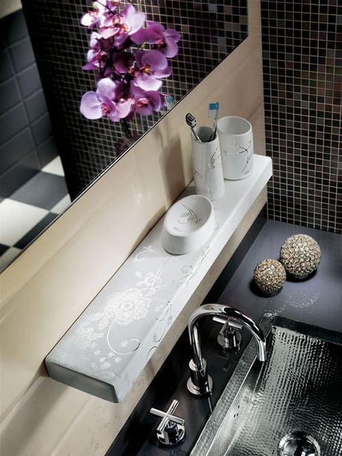 Modern Ceramic Bathroom Accessories by Fap Ceramiche