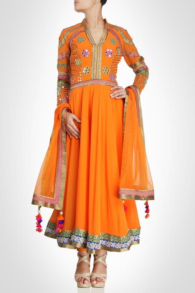 Beautiful-Bridal-Wedding-Lehanga-Choli-Saree-Anarkali-Churidar-New-Fashion-Dress-by-Designer-Surily-Goel-11