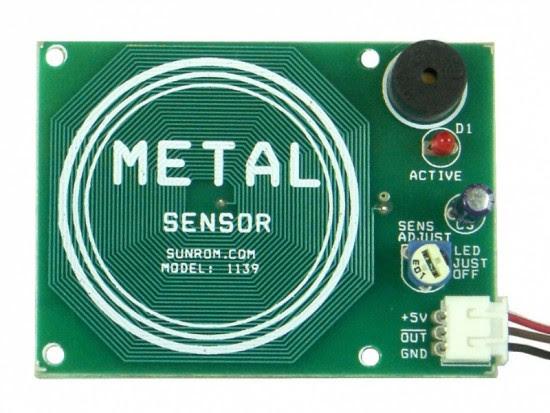 sunrom metal sensor