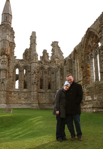 Me and Ed at Whitby Abby