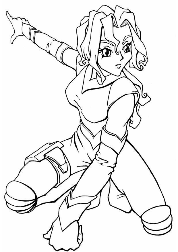 84 Dessins De Coloriage Manga à Imprimer Sur Laguerchecom Page 1
